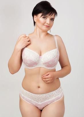 1030 Бюстгальтер больших размеров Lana's Розовая вуаль