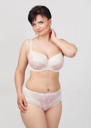 2805 Трусы-слип больших размеров Lana's Розовая вуаль