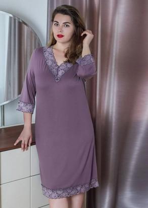 03-034 Ночная сорочка из хлопка Marsana Крокус