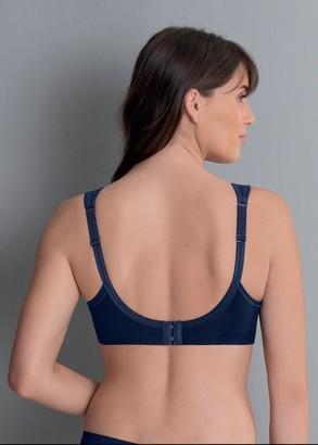 5427 Бюстгальтер-минимайзер без косточек для большой груди Jana Anita Синий