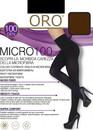 100 Женские колготы Micro Oro 100 den Капучино
