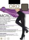 100 Женские колготы Micro Oro 100 den Серая дымка