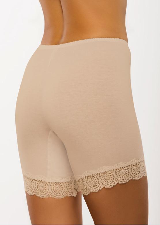 008 Женские хлопковые панталоны больших размеров (до 7XL) Afina Бежевый