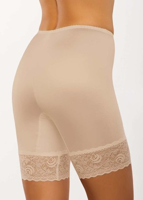 029 Женские утягивающие панталоны больших размеров Afina Бежевый