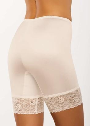 029 Женские утягивающие панталоны больших размеров Afina Шампань