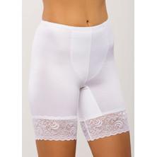 029 Женские утягивающие панталоны больших размеров Afina Белый