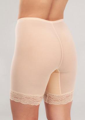 049 Жіночі стягуючі панталони великих розмірів Afina Бежевий