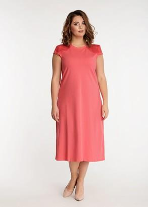 2041 Ночная сорочка из хлопка с халатом  Bleise Easy Light Коралл