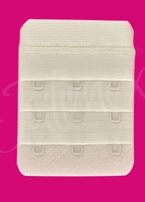 BA-03/3 Удлинитель для бюстгальтера Julimex на три крючка Молоко