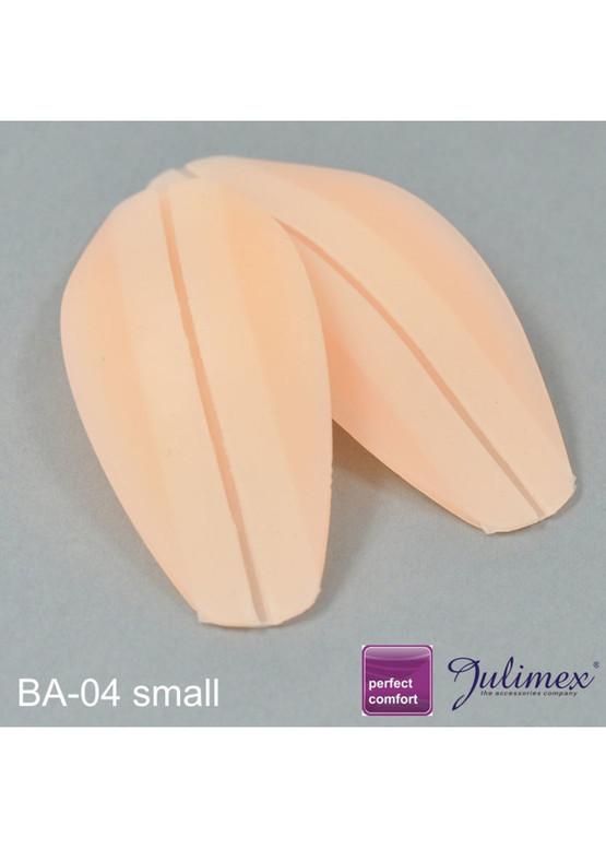 BA-04 Силиконовые подкладки под узкие бретели бюстгальтера Julimex крупным планом
