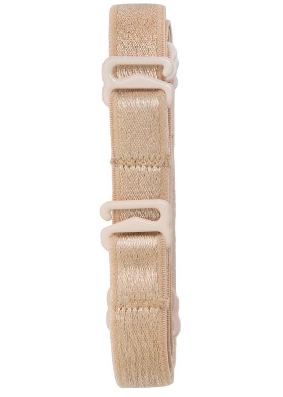 2185 Удлиненные тканевые бретели для бюстгальтера Kleo Бежевый