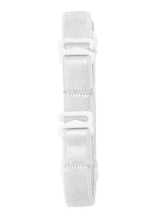 2185 Удлиненные тканевые бретели для бюстгальтера Kleo Белый