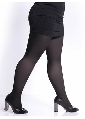 40 Жіночі колготи великих розмірів Giulia Molly 40 Den (до 4XL) Чорний