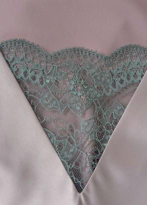 1072 Шелковая ночная сорочка с халатом Begonia фирмы Komilfo (до 6XL)