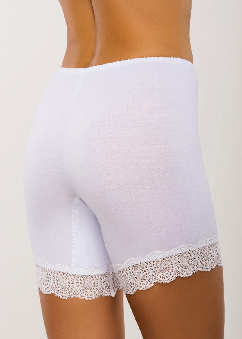 008 Женские хлопковые панталоны больших размеров (до 7XL) Afina Белый