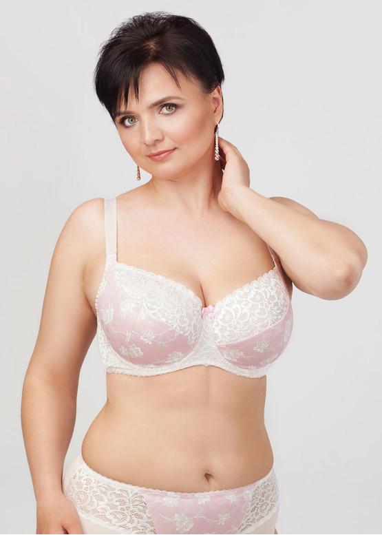 1030 Бюстгальтер великих розмірів Lana's Рожева вуаль