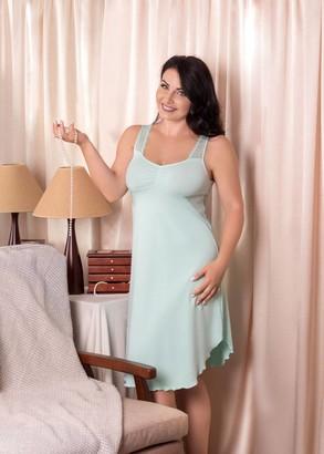 03-038 Ночная сорочка из хлопка Marsana Ментол