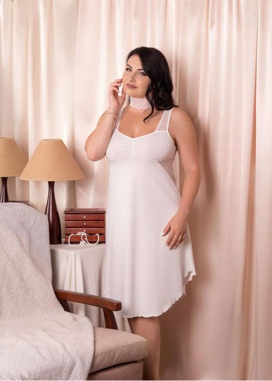 03-038 Ночная сорочка из хлопка Marsana Шампань