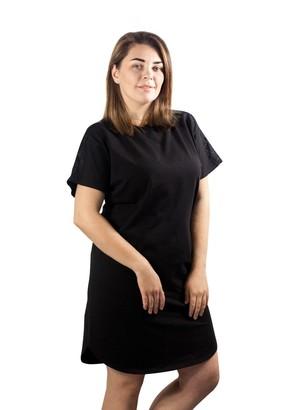 03-060 Ночная сорочка из хлопка Marsana Черный