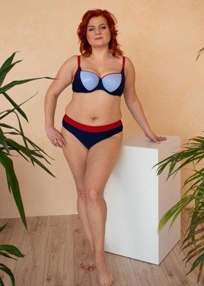 53-221 Купальник-бикини большого размера Martinica Marsana Синий с красным