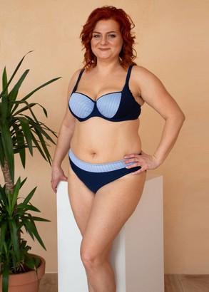 54-221 Купальник-бикини большого размера Santorini Marsana Синий