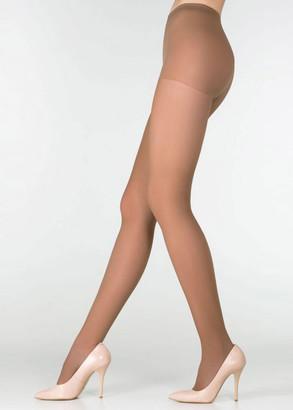 040 Женские колготы большого размера Marilyn Style Glace 40 Den Бежевый