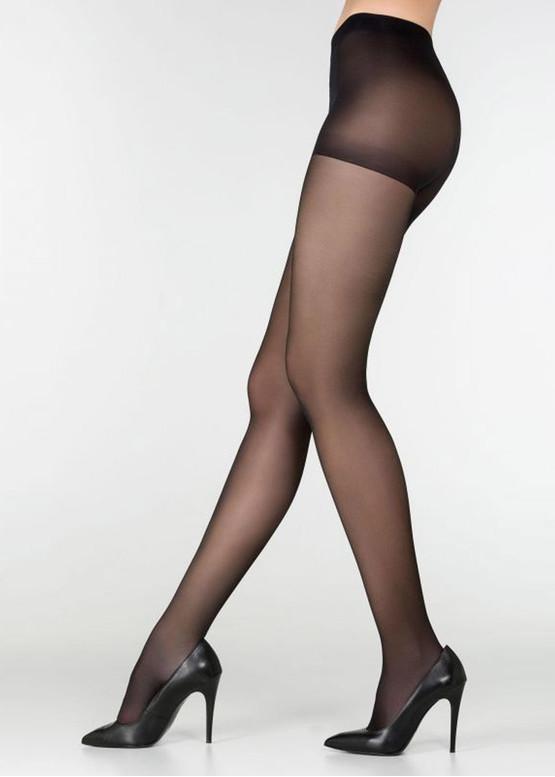 040 Женские колготы большого размера Marilyn Style Nero 40 Den Черный