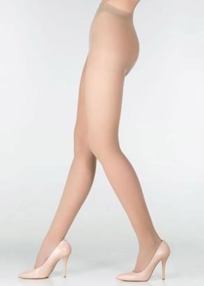 040 Женские колготы большого размера Marilyn Style Vizone 40 Den Загар