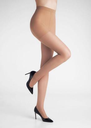 050 Женские колготы большого размера Marilyn Relax Vizone 50 Den Загар