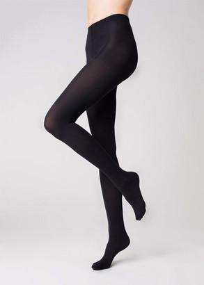 060 Женские колготы большого размера Marilyn Micro Nero 60 Den Черный