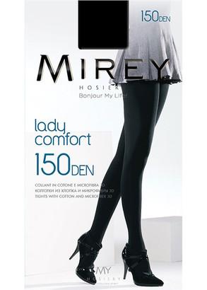 0150 Женские колготки с добавлением хлопка Mirey Lady Comfort Nero 150 Den Черный