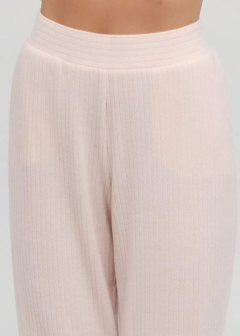 100015 Домашний костюм из вискозы Naviale Розовая пудра