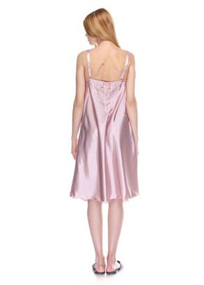 1202 Женская атласная сорочка большого размера Serenade Сиреневый