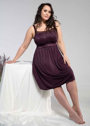 1340 Женская ночная сорочка больших размеров Shato Вино