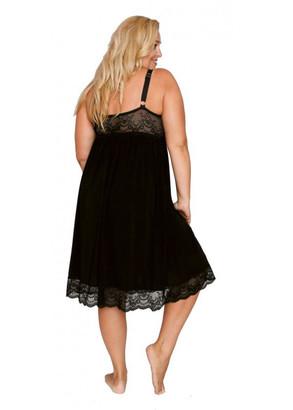 1341 Ночная сорочка Shato Черный