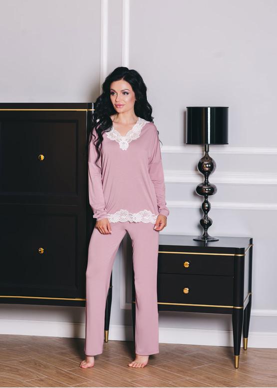 1512 Женская пижама из вискозы Shato Розовый