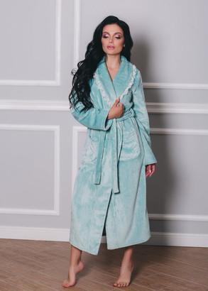 1531 Жіночий халат з велсофта Shato Ментол