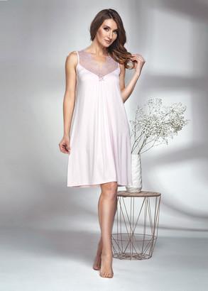 1606 Женская ночная сорочка из вискозы Shato Розовый