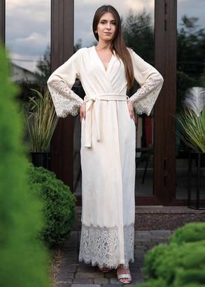 1931 Женский велюровый халат Shato Ваниль