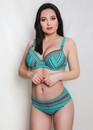 218 Женский купальник-бикини с уплотненной чашкой Multicolor Shato Морская волна