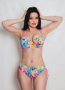 224 Женский купальник-бикини с уплотненной чашкой Multicolor Shato Розовый