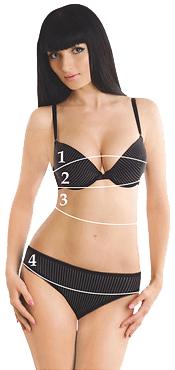 Размеры домашней одежды ТМ МАРСАНА